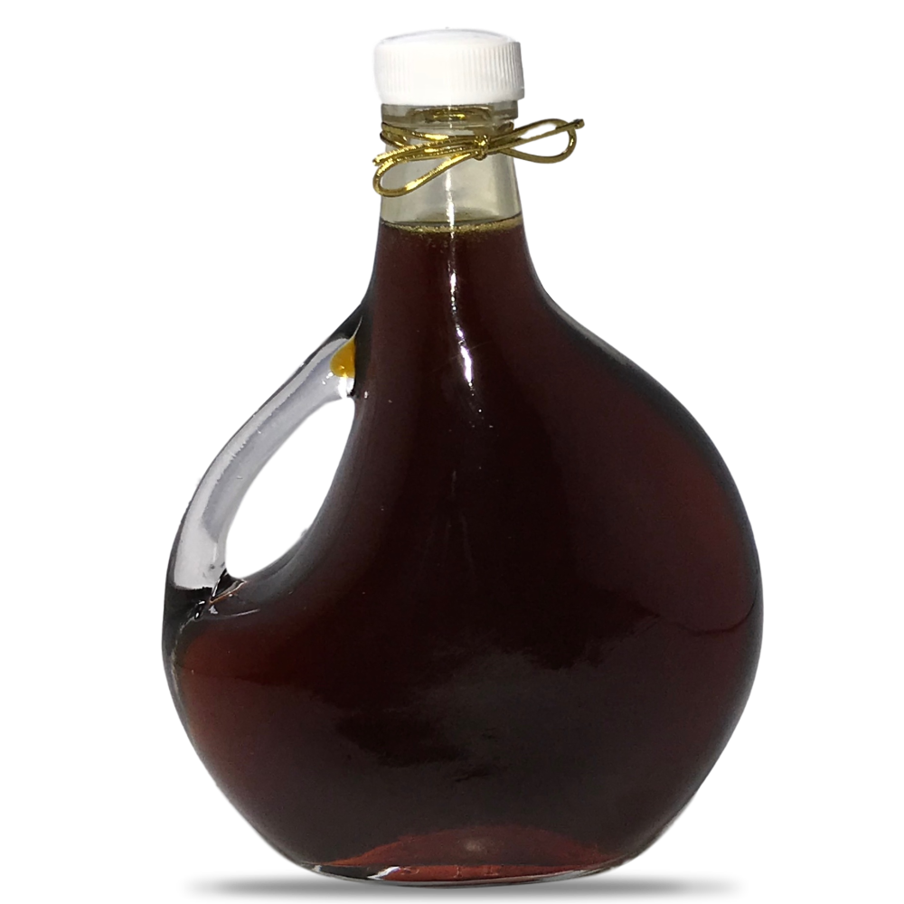 Maple Syrup Grade A Amber Rich Taste In a Glass Bottle